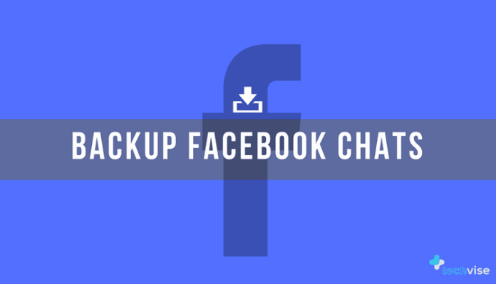 Backup facebook chat
