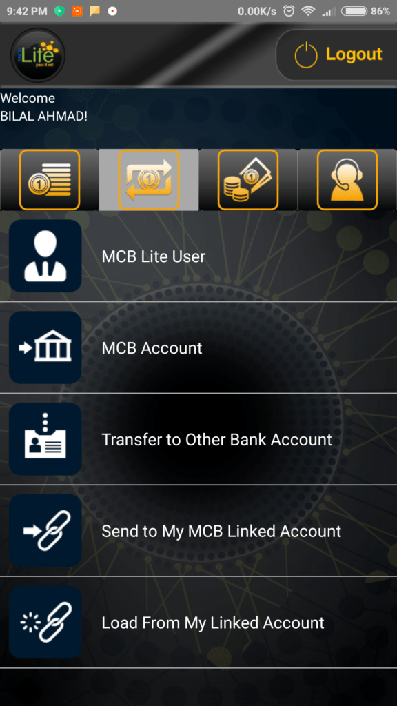 MCB Lite screenshot