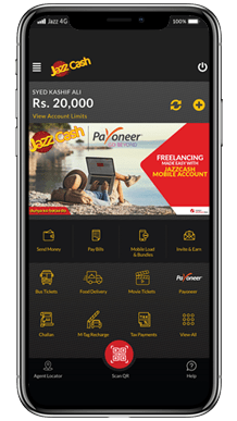 Payoneer and JazzCash