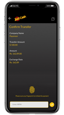 Instant Withdraw to JazzCash